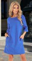Лаконичное  платье с красивой спинкой