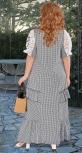 Летнее платье с красивым кружевом