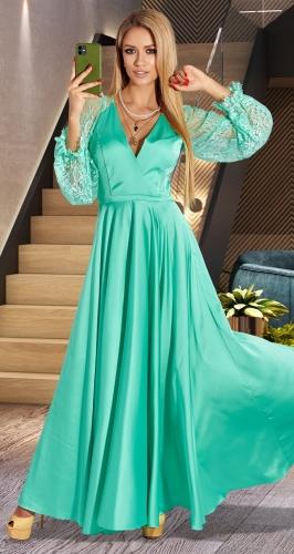 Великолепное шелковое платье