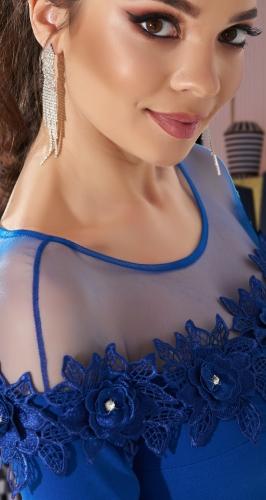 Красивое облегающее платье № 33106