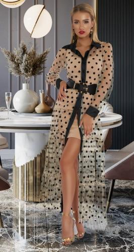 Костюм : платье и сеточка № 43571