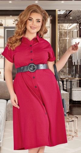 Лёгкое трикотажное платье