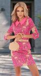 Облегающее платье в модных оттенках