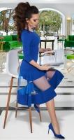 Платье с интересными деталями № 3433