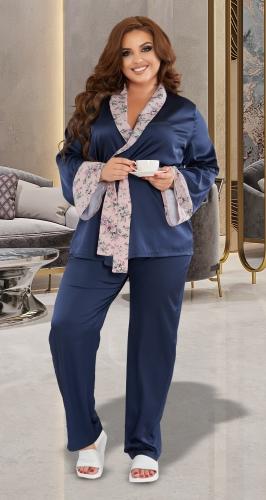 Шелковая пижамка № 4343