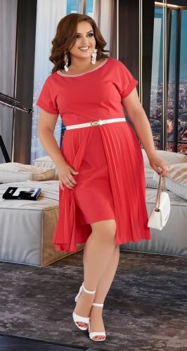Красивое трикотажное платье № 432331