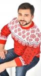 Красивый мужской свитер