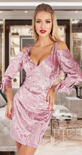 Платье с красивым кроем № 4569