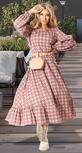 Модное платье с оборкой