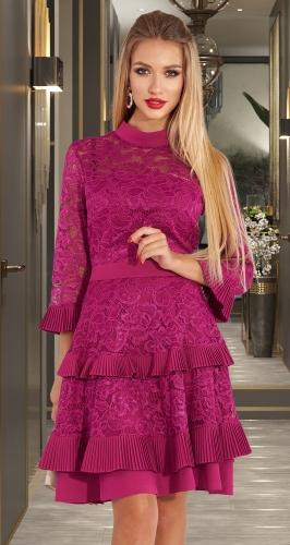 Красивое коктейльное платье № 3836