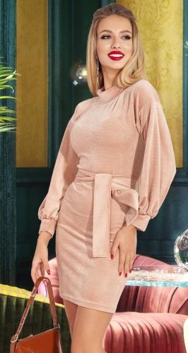 Красивое платье с ремешком № 4542