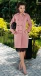 Двубортное пальто № 4254