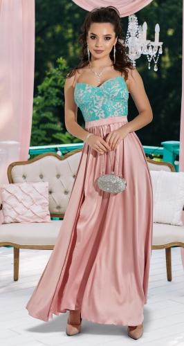 Красивое длинное платье № 4172