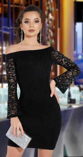 Гипюровое платье МИНИ № 1367