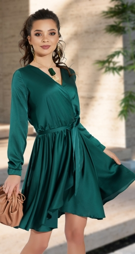 Платье на запах № 4300