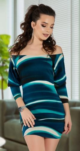 Платье с открытыми плечиками № 3213