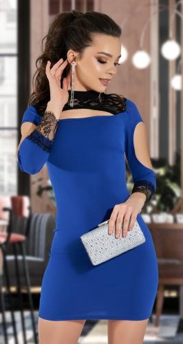 Облегающее платье интересного кроя № 35273