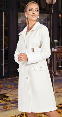 Модное пальто со съёмным мехом