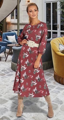 Платье из красивой ткани № 45413