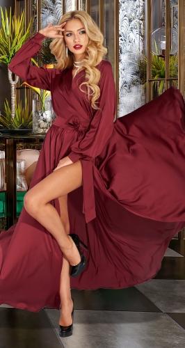 Шелковое вечернее платье № 4606