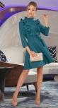 Короткое платье с воланчиками