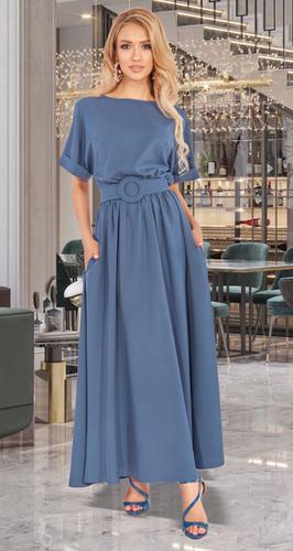 Лёгкое свободное платье