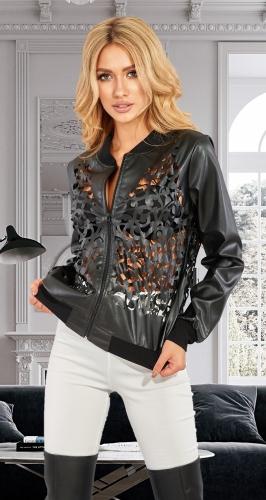 Стильная ажурная курточка