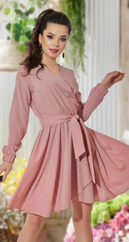 Платье в полоску № 43004