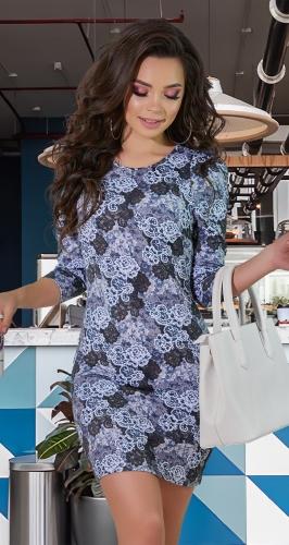 """Облегающее платье с рукавами"""" Жиго"""" № 3216"""