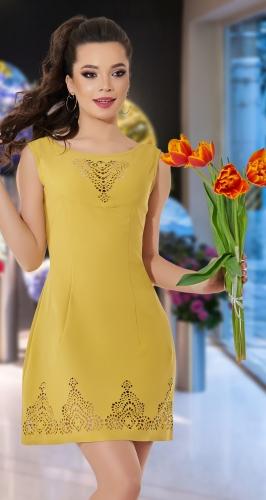Красивое нарядное платье № 1263