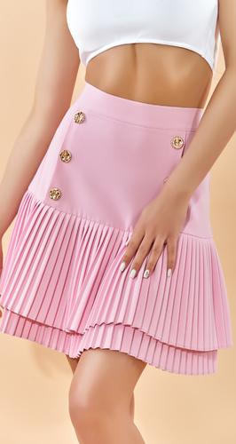 """Стильная юбка со складками """" плиссе """""""