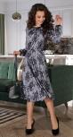 Красивое шелковое платье № 4215