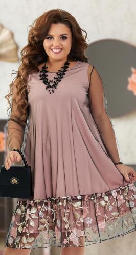 Красивое платье № 392741