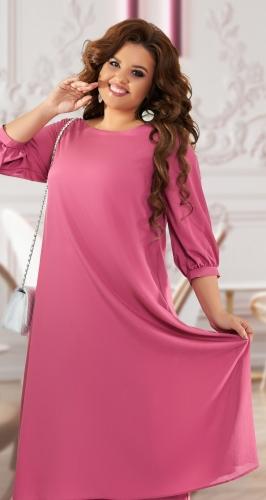 Нарядное шифоновое платье № 42381