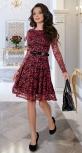 Красивое кружевное платье № 3914