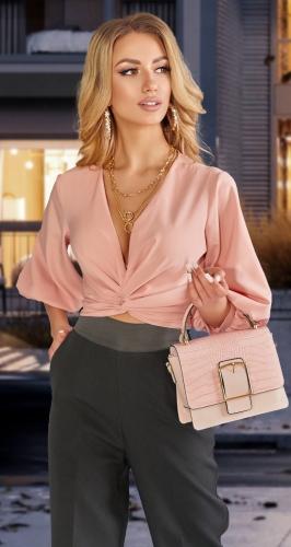 """Красивая блузка в длине """" до талии """""""