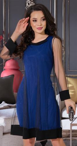 Эффектное платье№ 3817