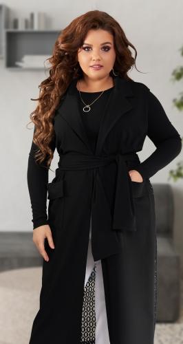 Костюм кардиган + блуза № 42491