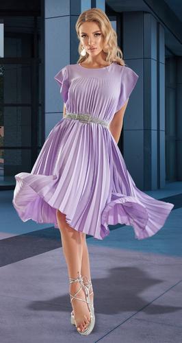 Платье в складку