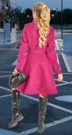 Кашемировое пальто с шалевым воротником