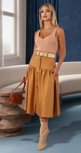 Модная юбка № 4468