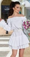 Белое платье № 4331