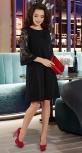 Свободное платье № 38483