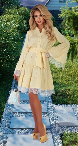 Оригинальное платье № 4520