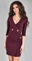 Стильное платье-пиджак № 3648